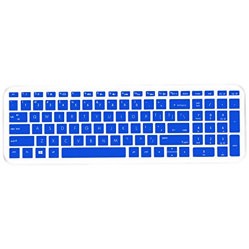 Notebook Screen Cover - Keyboard Cover Skin for HP 15.6 Touchscreen Laptop 15-BS020WM, 2018 Flagship HP 15-ay191ms, HP ENVY X360 15M-BP111DX 15M-BQ021DX, HP 15-CB 15-CC 15-CD 15-CH 15-BW 15-BS, 17.3