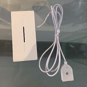 Detector de la Alarma de inundación del Sensor de la pérdida del Agua 433.92MHZ ,Detección de la Fuga de Agua inalámbrica para la Seguridad del Control ...