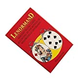 Jeu Mlle Lenormand Fortune Telling 36 Cards Deck with English Instructions