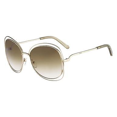 Chloé Ce119S 733 60, Montures de lunettes Femme, Or (Gold Green)   Amazon.fr  Vêtements et accessoires 5d6f6b7fd9e8