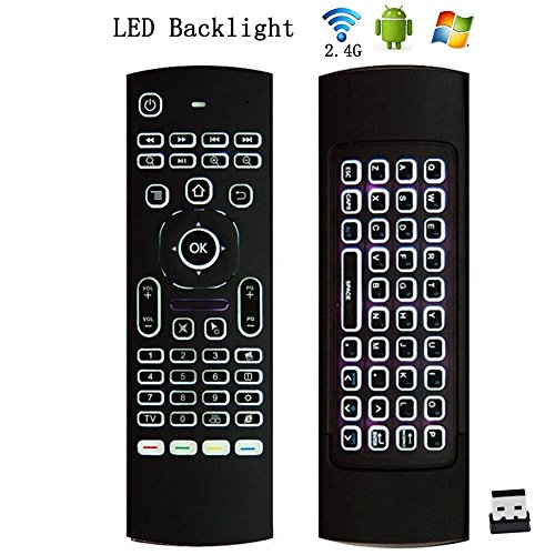 universal remote with keyboard - 5