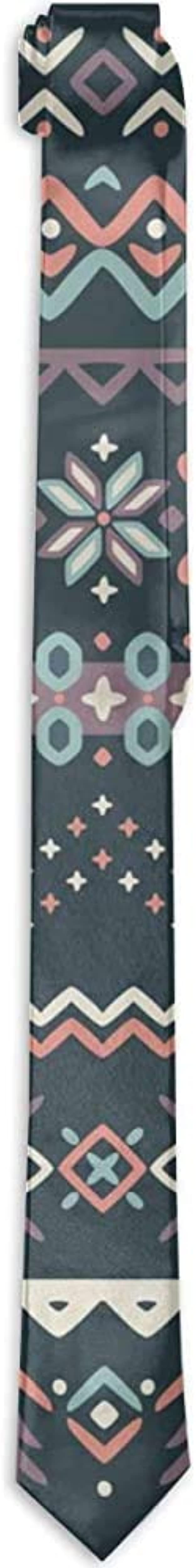 Hombres Corbatas de color liso Corbata delgada Causales de ...
