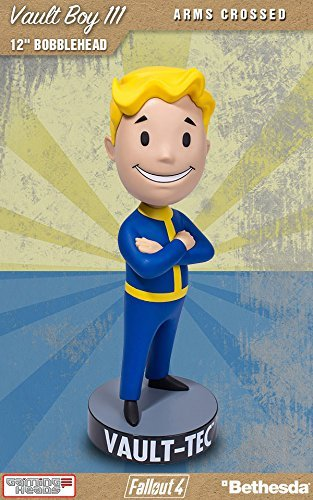 Gaming Heads Fallout 4 Bobble-Head Vault Boy 111 Arms Crossed 30 cm -