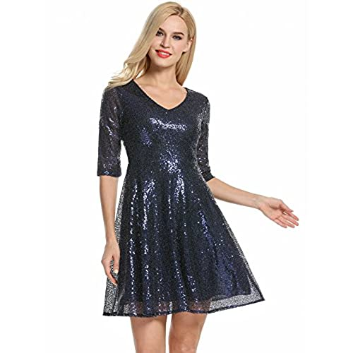 Sequins Dresses: Amazon.com