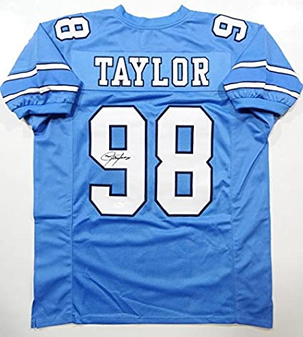 fa6a7daf0dd Image Unavailable. Image not available for. Color  Lawrence Taylor  Autographed ...