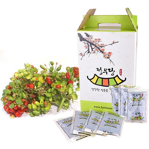 [Jeongwoodang]Ginseng Berry Extract Tea 30EA 2 Week Package/Containing 30 times higher Saponin(Ginsenoside Re) than Red Ginseng Root/Super Food/진생베리/人参浆果茶 Sold by Stylebang by Jeongwoodang