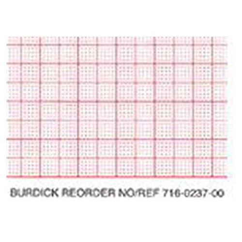 WP000-BURDICK PAPER EKG THERMAL 200 SHT/PD10PD/CS BURDICK ASSURANCE 50TM ECG RECORDING PAPER From CARDIAC SCIENCE