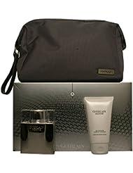 Guerlain Homme Men Eau-de-toilette Spray, Hair and Body Wash, Travel Pouch by Guerlain