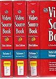 Video Sourcebook 9780787689766
