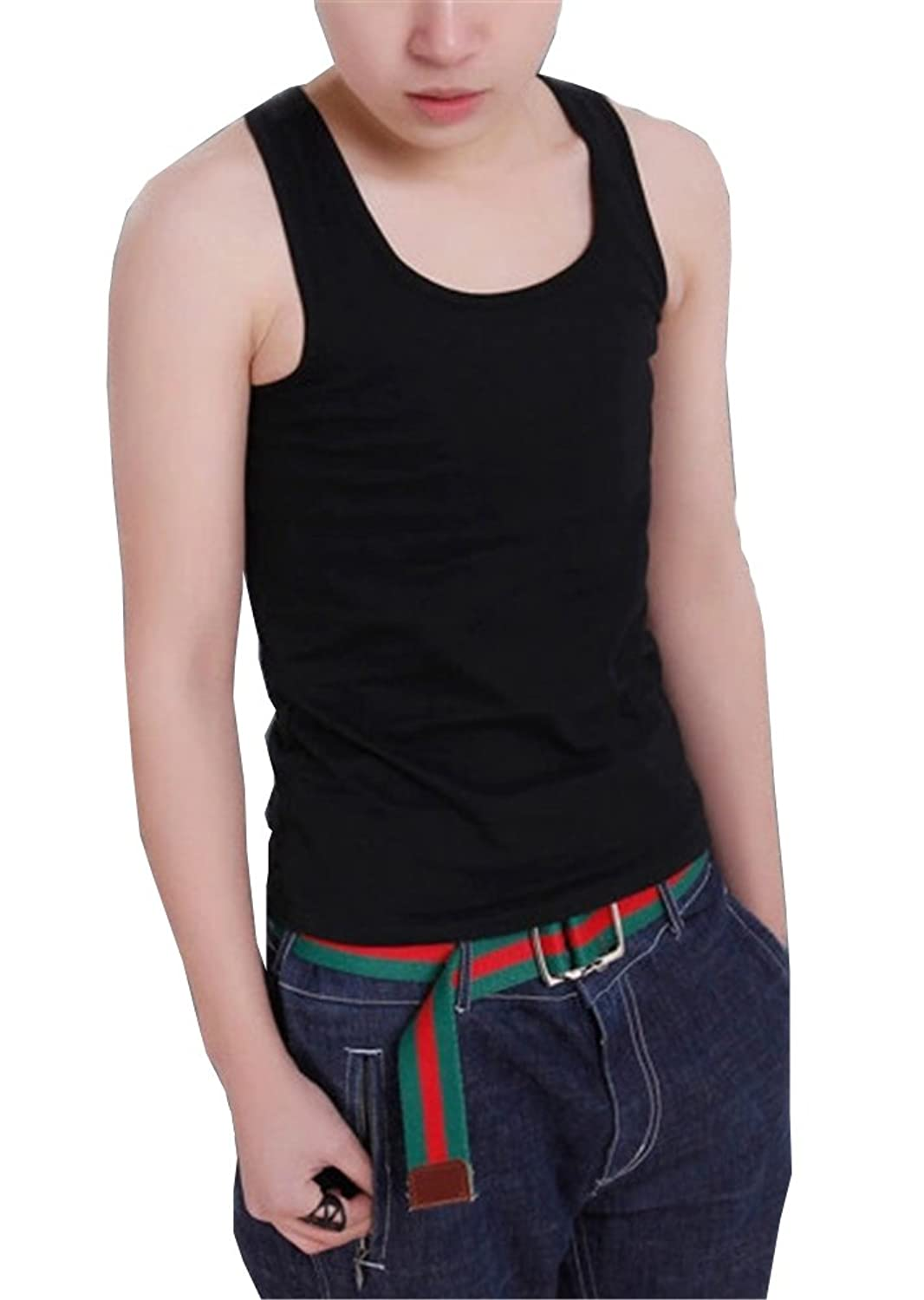 Super Flat Les Lesbian Tomboy Compression 3 Rows Clasp Chest Binders Tank Tops