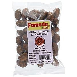 Famade Foods African Bitter Kola (Garcinia Kola), 0.5 lb. 12 African bitter kola (Garcinia kola) Premium quality product, 100% natural Non-GMO product