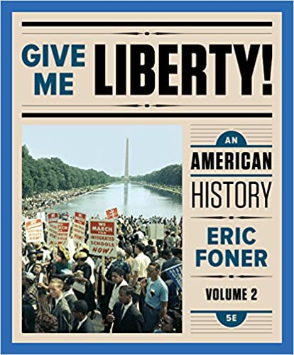 Amazon give me liberty an american history fifth edition amazon give me liberty an american history fifth edition vol 2 ebook eric foner kindle store fandeluxe Gallery