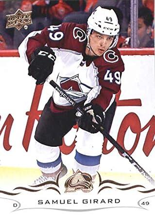 b8e9a1a8d75 2018-19 Upper Deck #49 Samuel Girard Colorado Avalanche NHL Hockey Trading  Card