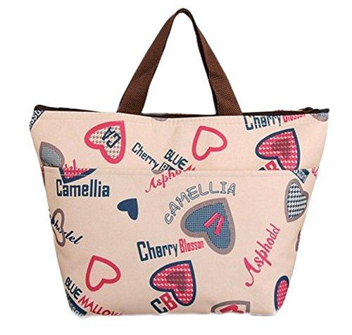 31x12x22cm style d'Epaule de Tissu repas Panier Oxford Travel 2 Packing Storage déjeuner Sac Pliable Cdet 1PC Sangle Etanche Bag en Sac EUqOCgnH