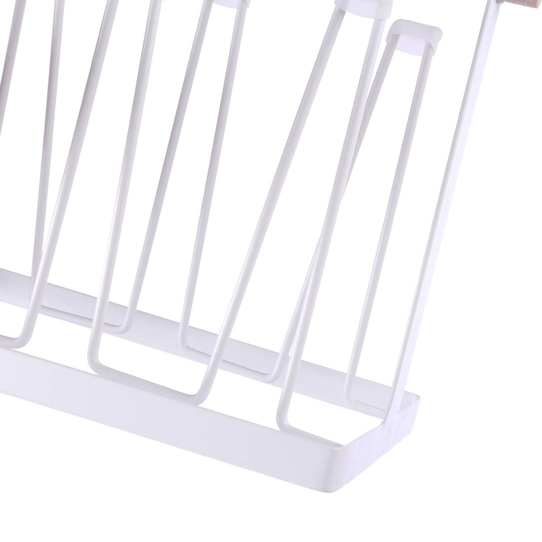 Wine Glass and Accessories Baby Bottles Cups FutureShapers Mug Holder Organizer Glass Dryer Drying Rack for Bottles