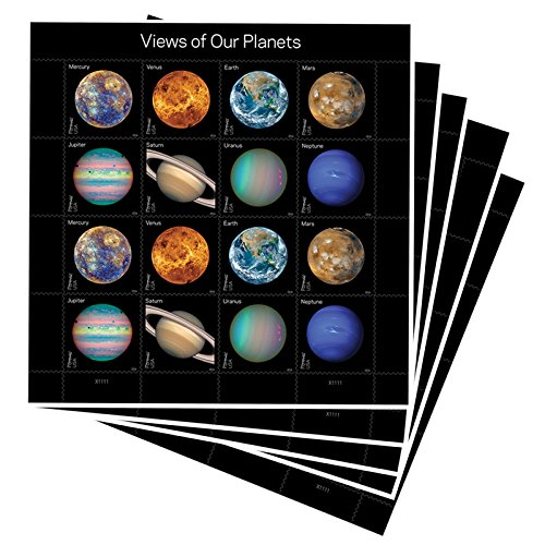 Views of Our Planets USPS Forever Postage Stamps Sheet of...