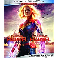 Captain Marvel  [Blu-ray + Digital Code] (Bilingual)