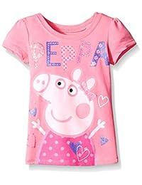 Peppa Pig Little Girls' Heart Tee