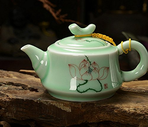 DELIFUR Longquan Celadon Handcrafted Tea - Hand Painted Porcelain Teacup Shopping Results