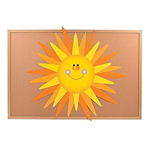 Fun Express - DIY Bulletin Board Set - Sun - Educational - Classroom Decorations - Bulletin Board Decor - 31 Pieces