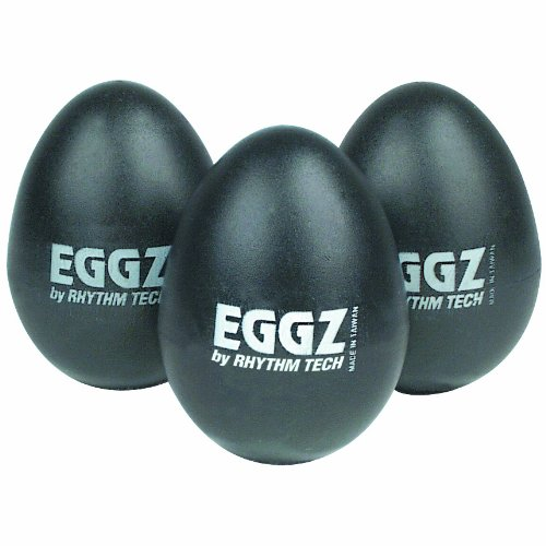 Rhythm Tech RT 2110 Eggz Shakers - Black, 24-pack