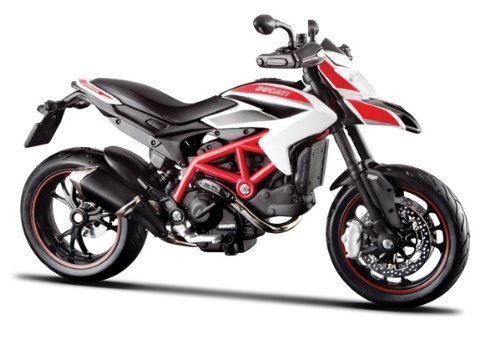 Free Ducati Hypermotard SP Motorcycle Model 1:12 Scale by Maisto