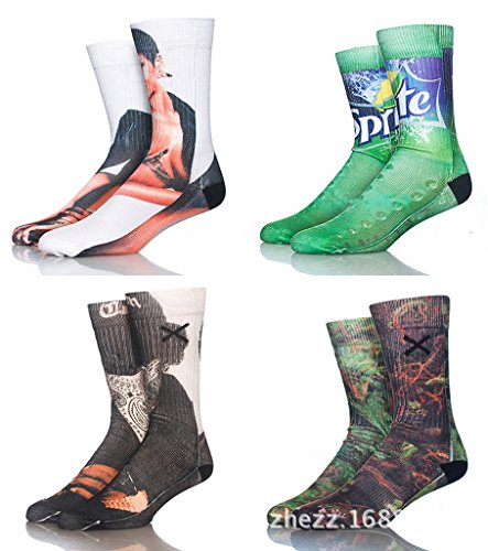 88687b618093 3D Print Long Shark Socks at The We Love Sharks Store
