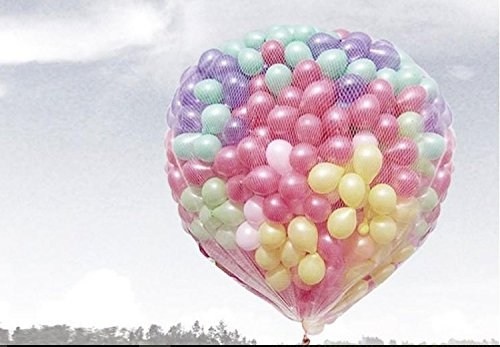 Dailyshops Lighter and Softer Balloon Release Net Holds 500 10