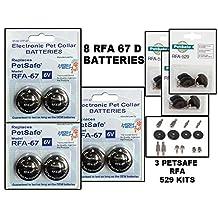 RFA 67 BATTERIES 8 PACK PLUS 3 PetSafe 529 KIT