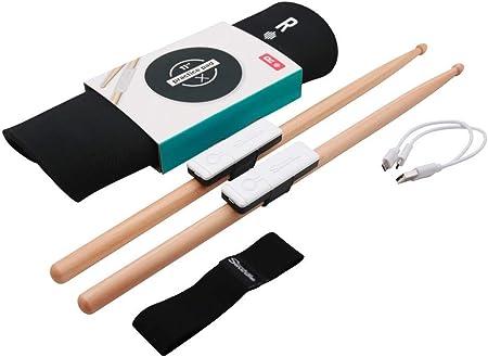 Senstroke batteria elettronica portatile per principianti e professionisti 2 bacchette per batteria 1 pad di allenamento Redison Essential Box 2 sensori
