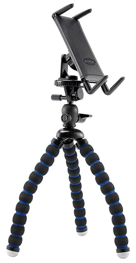 huge discount 8c2bb 25509 Arkon Tripod Phone Mount Holder for iPad mini iPhone X 8 7 6S Plus iPhone 8  7 6S Retail Black