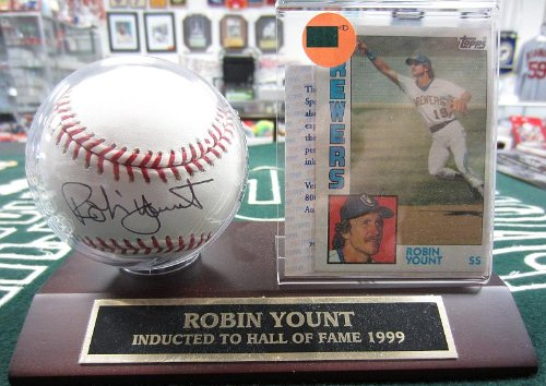 Robin Yount Autographed Official MLB ()