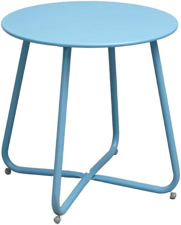 2020 CAIM Macaron Bijzettafeltje, eenvoudige moderne salontafel, sofa-hoeken, een paar creatieve bijzettafeltjes, zijkast, bijzettafeltje Meerblauw k2TOQzl