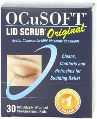 OCuSOFT Lid Scrub Original, Pre-Moistened Pads, 30 Count