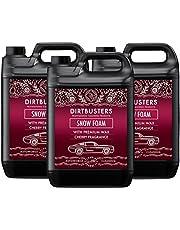 Dirtbusters Car Candy Snow Foam autoshampoo, reiniger met hoogglanswas, kersengeur, voor professionele reiniging en voertuigbehandeling, 5 l