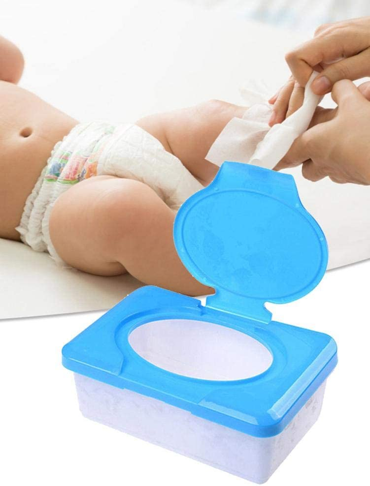 Letway Dispensador de toallitas dispensador de toallitas para beb/és Estuche para toallitas para beb/és El soporte para toallitas para beb/és mantiene las f/áciles de abrir y cerrar Contenedor reasonable