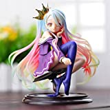 No Game No Life Shiro PVC 15CM Anime Action Figures Model Toys Doll Toy