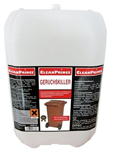 5000ml Bio Exterminador de Olores Limpiador 5 Litros Compostera Toneladas Cubo de basura Absorbedor de olores