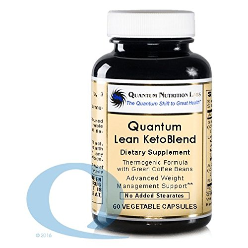 Quantum Lean Advantage KetoBlend 60 Vcaps, Premier Research Green Coffee Bean Extract by Quantum Nutrition Labs