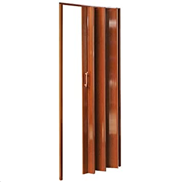 Pvc Falttur Fur Innen Metall 12mm Brown Amazon De Kuche Haushalt