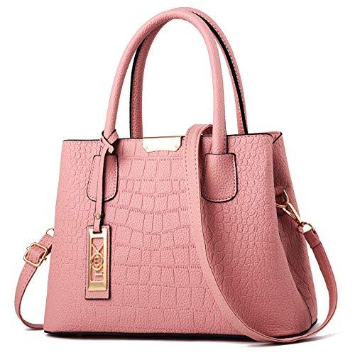 Top Women Handbags COCIFER Bag Pink Messenger Tote Handle Satchel 3 Purse Bags Shoulder q5xxwdpfI