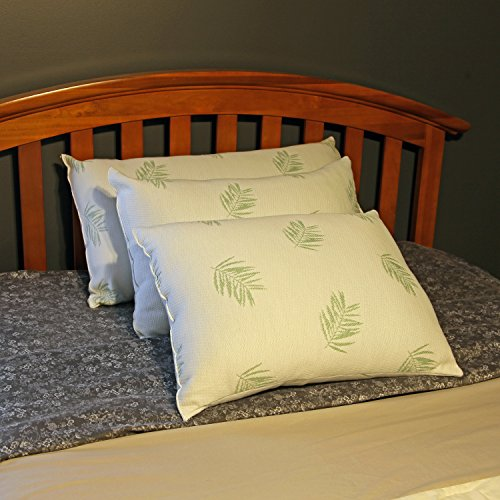 The Perfect Bamboo Pillow -Stay Cool Pillow-Hotel Quality Fiber Crafted in USA...