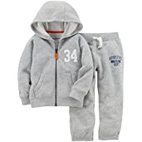 Carter's Baby Boys' Fleece Hoody and Pant Set,