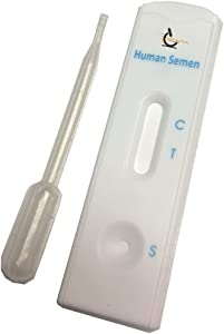 Test for Stain Identification of Male Semen, Pack of 3