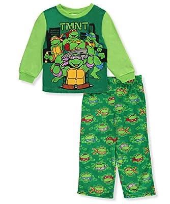 Teenage Mutant Ninja Turtles TMNT Little Boys' Toddler 2-Piece Pajamas