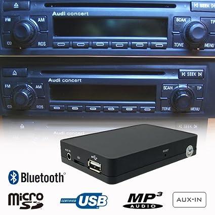 amazon com stereo bluetooth handsfree a2dp usb sd aux mp3 wma cd rh amazon com Audi A7 Manual Audi A5 Manual