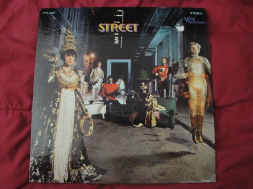 STREET Self-Titled 1968 Original Verve Forecast FTS-3057 Stereo Vinyl Lp Record Psych Female Vocals West Coast Ablum EX