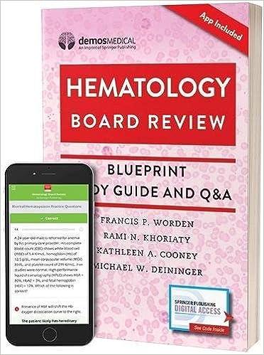 Hematology board review blueprint study guide and qa book free hematology board review blueprint study guide and qa book free app 1st edition malvernweather Choice Image