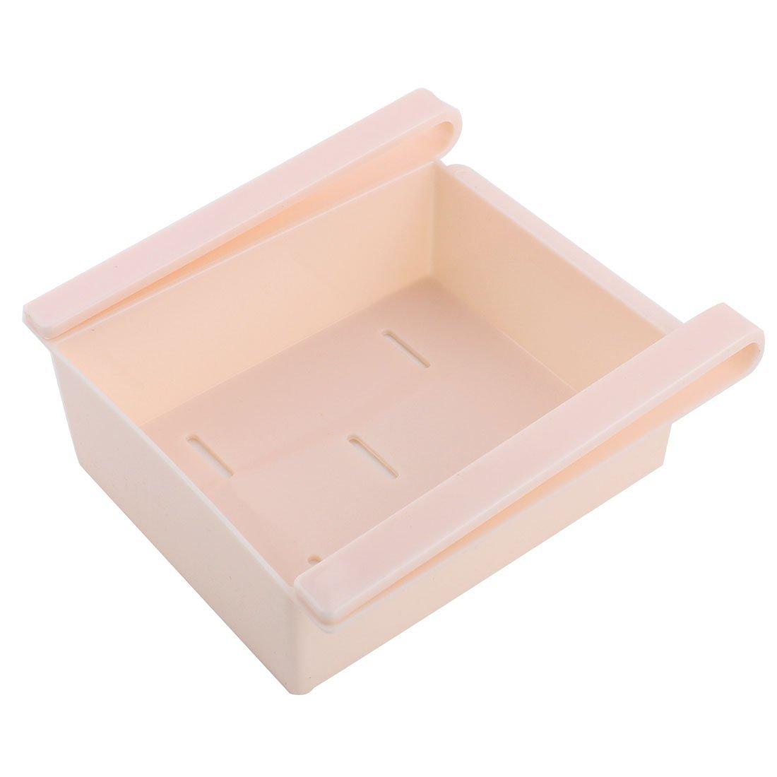 Amazon.com: DealMux plástico Frigorífico Frigorífico Congelador Gaveta Bandeja Ice Dish armazenamento Rosa Organizer: Kitchen & Dining