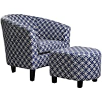 NHI Express Paisley Chair, Dark Blue